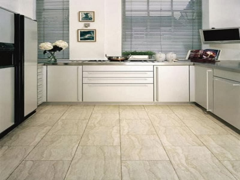 The Best Interior: Simple Kitchen Flooring Ideas
