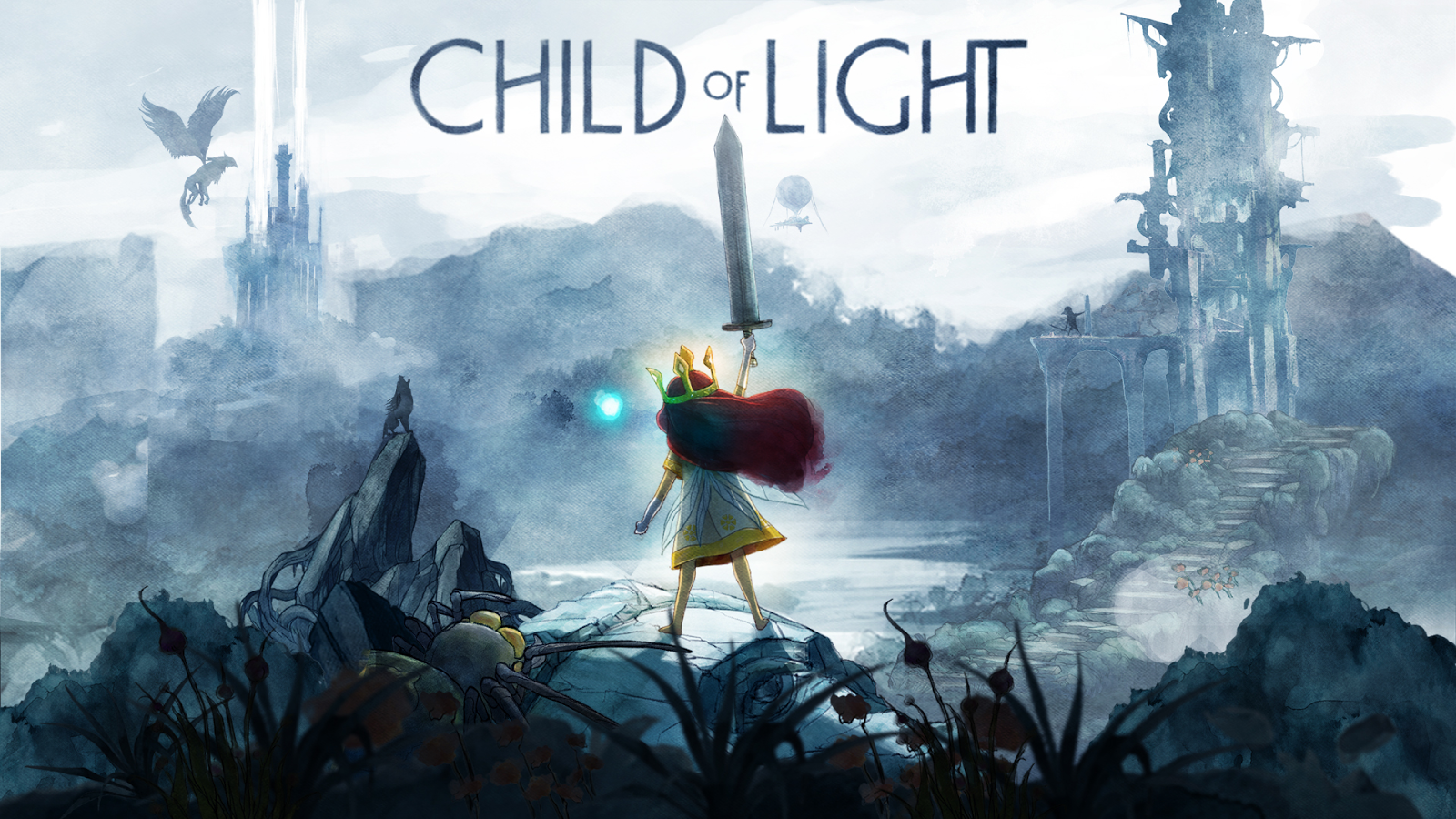 Child of light wallpaper
