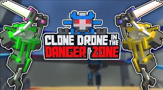 Robotların bir-birinə qarşı həyatda qalma mübarizəsi verdiyi bir aksiyon oyunu olan Clone Drone in the Danger Zone`da qalib gəlmək üçün əlinizdən gələnin ən yaxşısını etməli olacaqsınız.