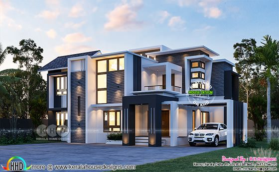 Super awesome contemporary home rendering