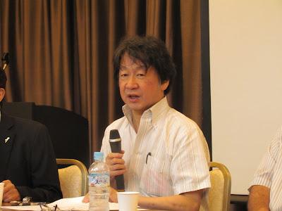 シンポジスト 斎藤貴男氏(ジャーナリスト)