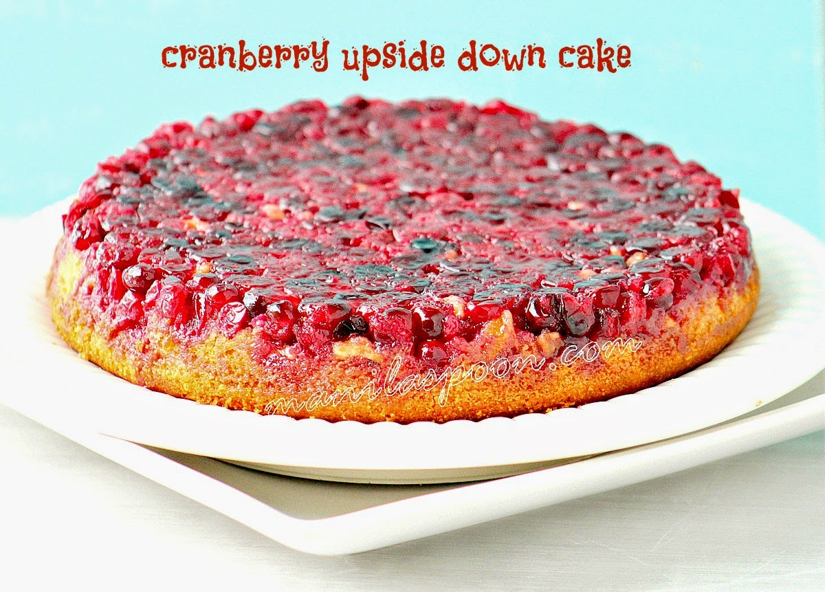 With a tender crumb and delicious fruity flavor this Cranberry Upside Down Cake is the best cake for the holidays!