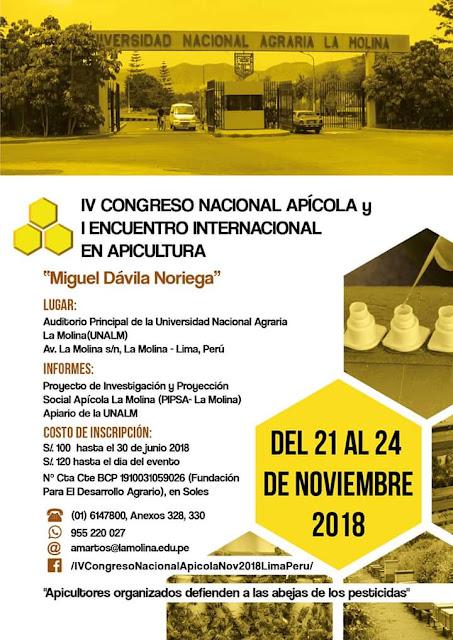 PERÚ: CONGRESO NACIONAL Y ENCUENTRO INTERNACIONAL.