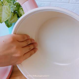 【萬惡宵夜必備】Neoflam Retro系列18cm 單柄湯鍋(陶瓷塗層蓋)-粉紅