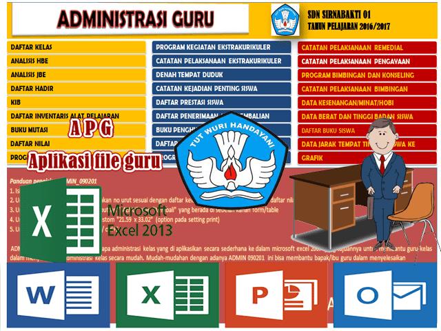 Download Aplikasi Administrasi Guru Kelas I Ii Iii Iv V