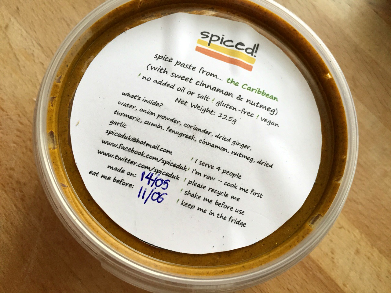 Spiced! Caribbean Spice Paste