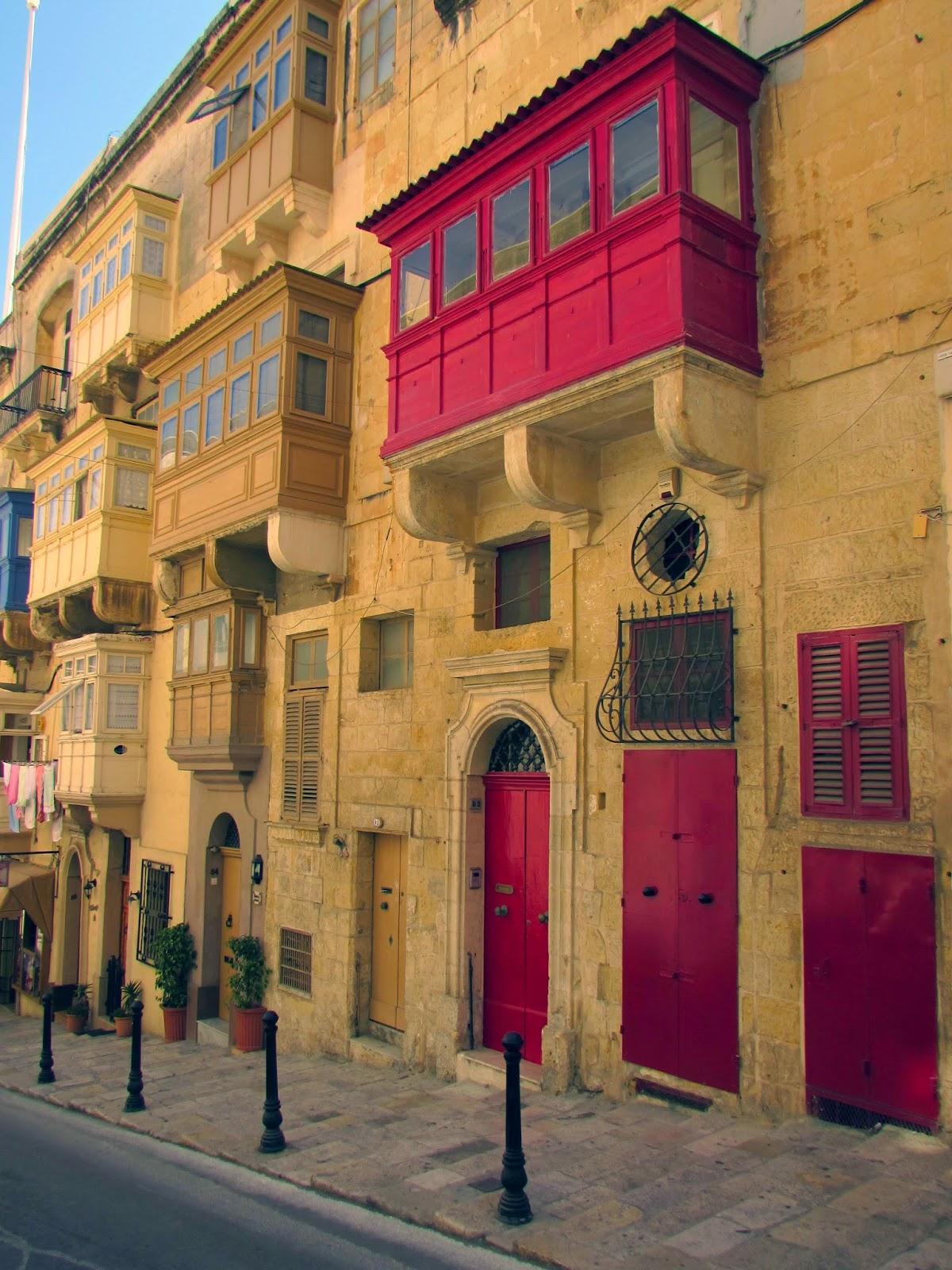 Malta. Malte. Il-Bet Valletta. La Valeta
