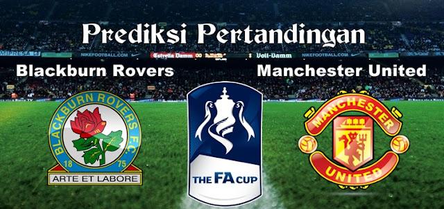 Prediksi Pertandingan Blackburn Rovers vs Manchester United 19 Februari 2017