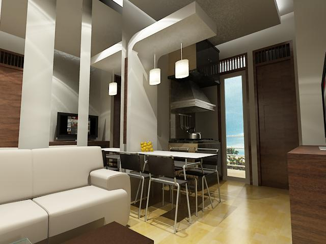 Desain Interior Apartemen Cantik dan Berkelas