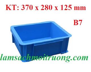 Cung cấp hộp đựng linh kiện, hộp đựng phụ tùng, thùng nhựa đặc giá rẻ