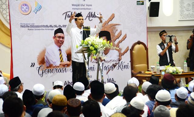 Ustaz Abdul Somad Ajak Jamaah Datangi TPS Di Hari Pencoblosan