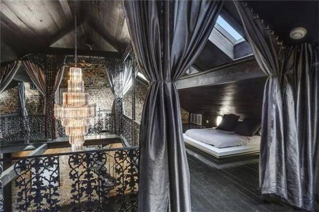 a casa incrivel de Lenny Kravitz 12 - As aparências enganam. Esta casa impressiona pelo seu interior.