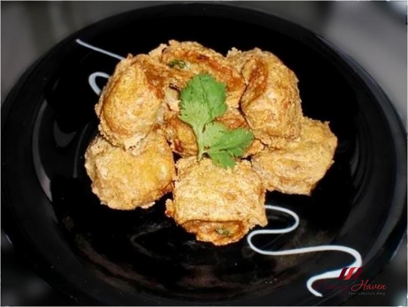 crunchy taupok unicurd tofu puff recipe