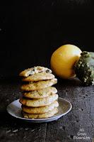 Cookies de calabaza con naranja, chocolate y nueces