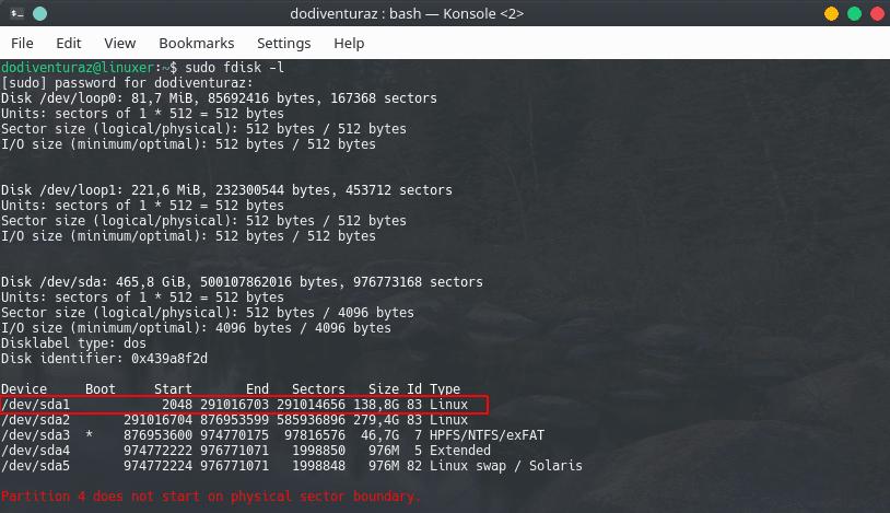 Cara Mengembalikan GRUB Linux Yang Hilang Setelah Install Windows ...