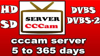 سيرفر سيسكام cccam server من 5 أيام إلى 365 يوم شغال روعه مجانا
