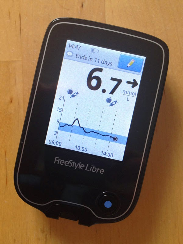 Every day ups and downs, a diabetes blog: Abbott Freestyle