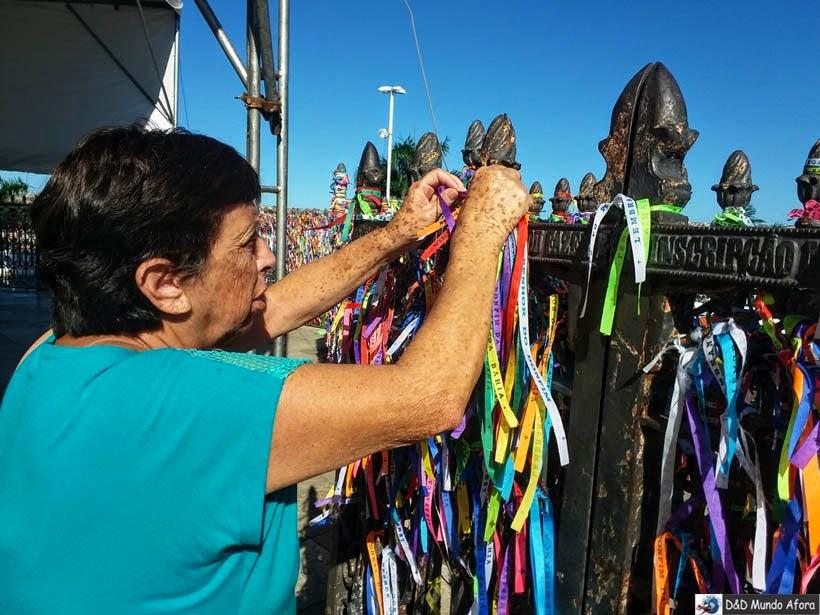 O que fazer em Salvador (Bahia) - Igreja do Bonfim - Fitinhas do Bonfim