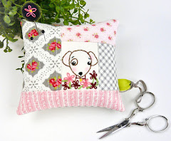 puppy pincushion pattern