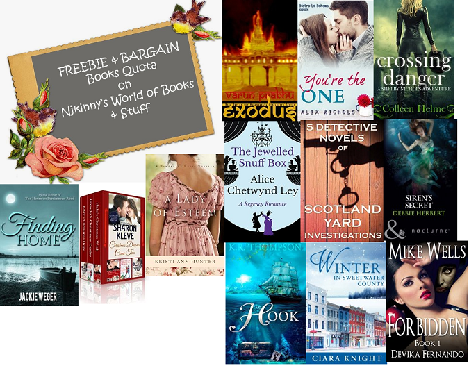 #FBQ(69)---> FREE & BARGAIN books quota!