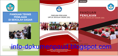 download buku panduan penilaian k13 revisi 2017 sd