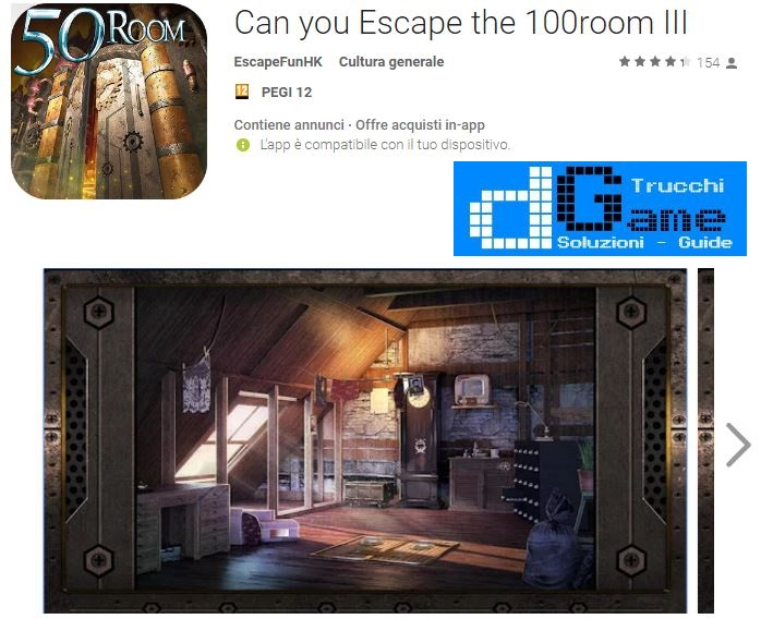 Soluzioni Can you Escape the 100 room III livello 1 2 3 4 5 6 7 8 9 10 | Trucchi e Walkthrough level