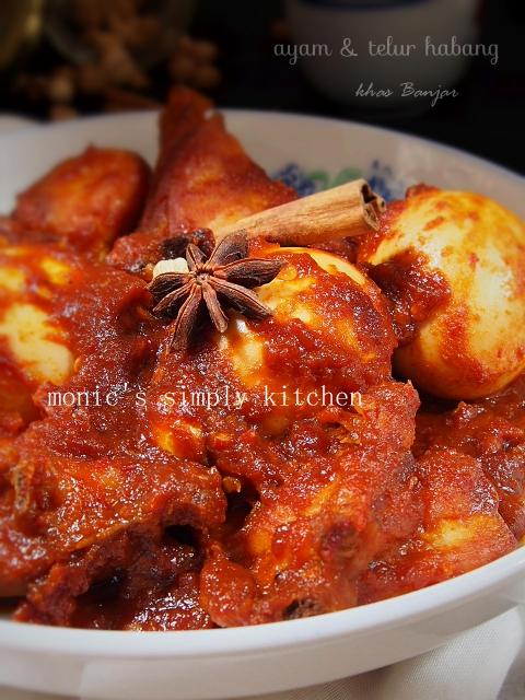 resep ayam masak habang banjar