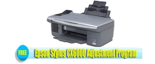 Epson Stylus CX6000 Adjustment Program