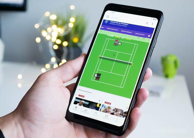 غوغل تخفي لعبة تنس جديدة وممتعة في محرك البحث الخاص بها ! تعرف كيف تظهرها وتلعبها