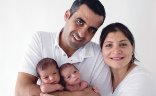 A woman is having twins after a long infertility and 13 attempts to fertilize
