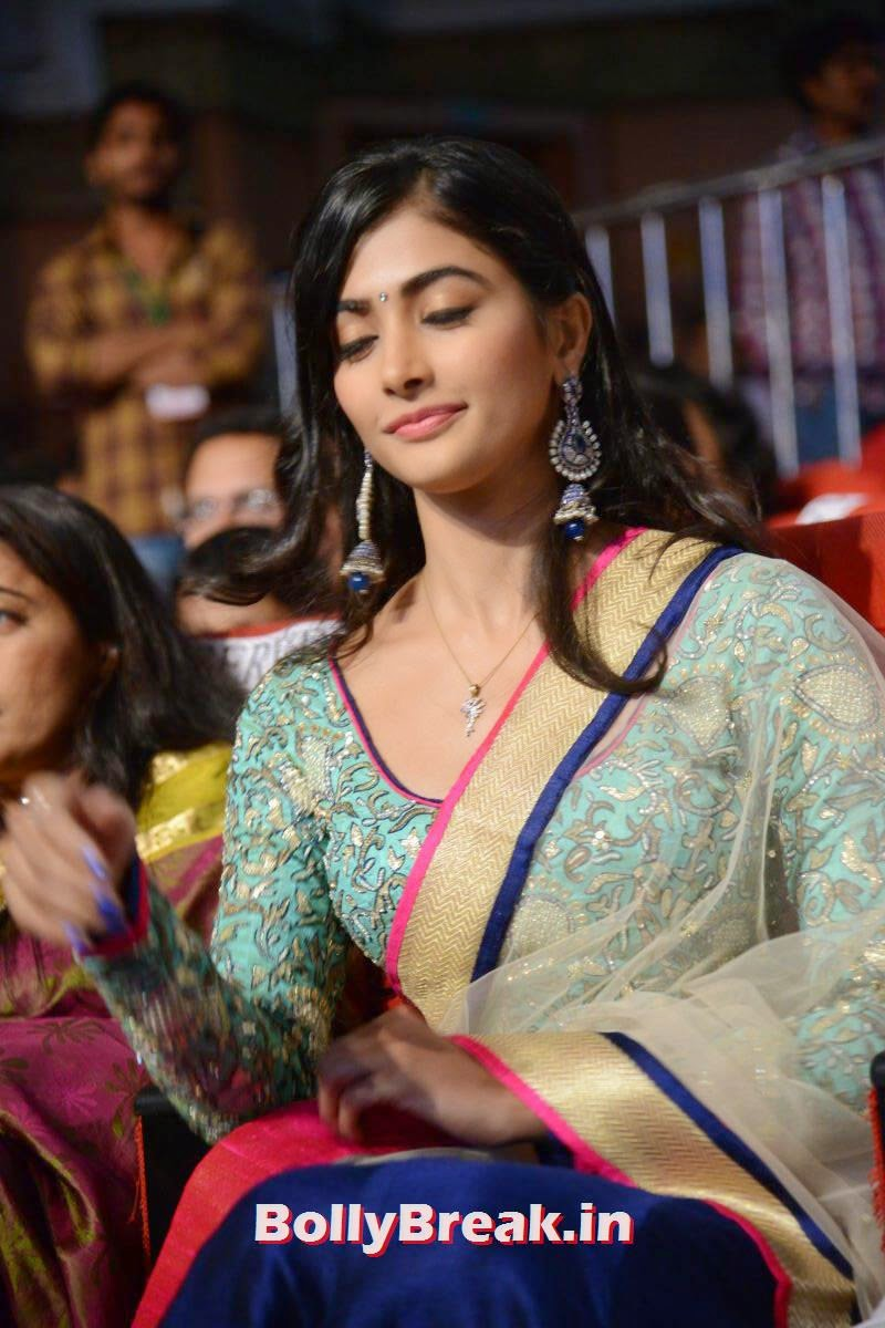 , hot Pics of Pooja Hegde from Mukunda Movie Audi Launch