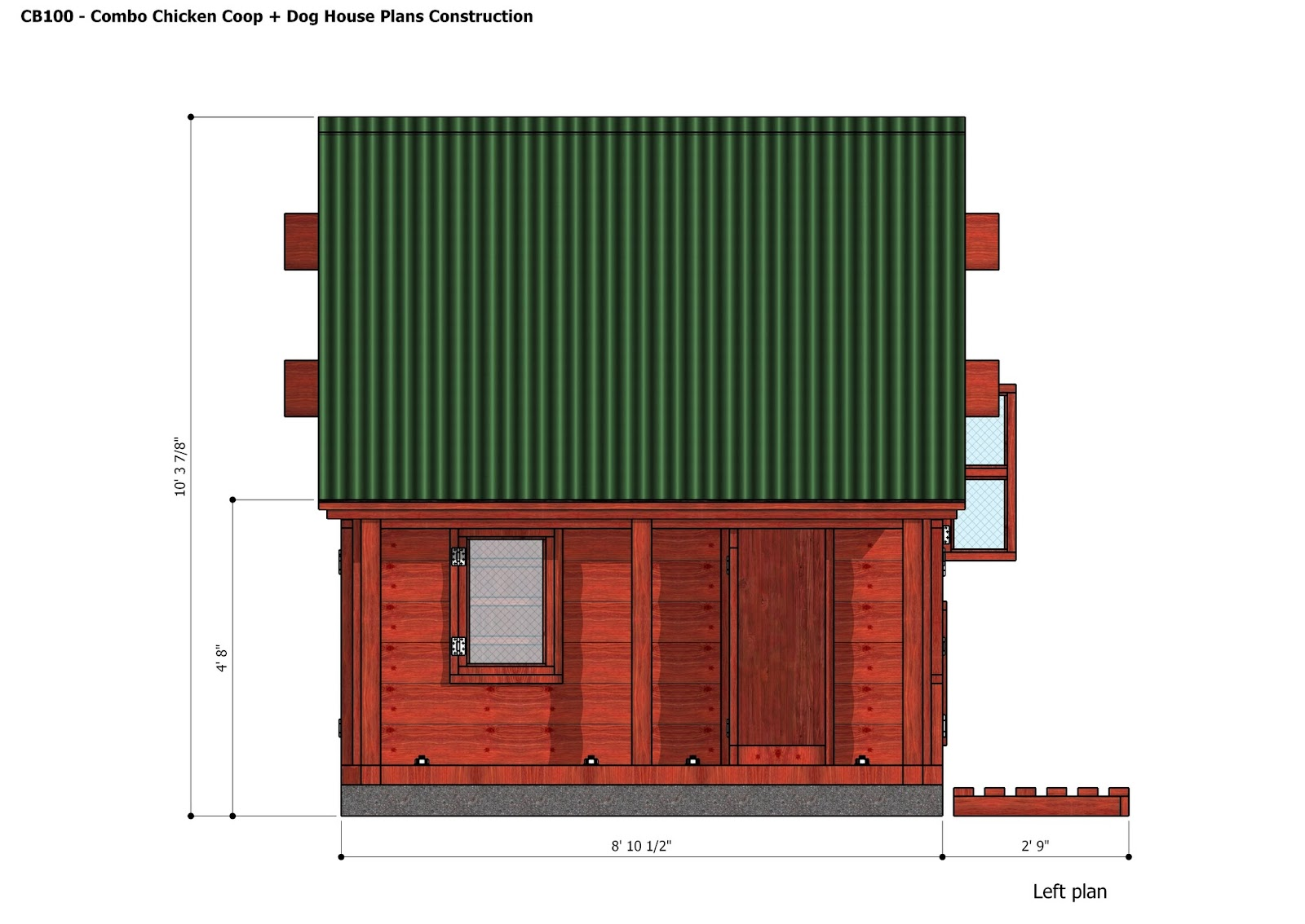 chicken house plans for 100 chickens pdf
