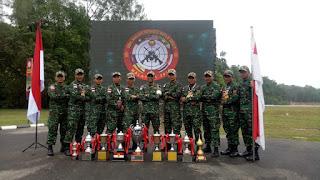 Praka Zulkarnain Ikut Harumkan TNI Dalam Lomba Tembak AARM Ke-28 Di Malaysia