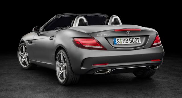 2018 Mercedes SLC Back
