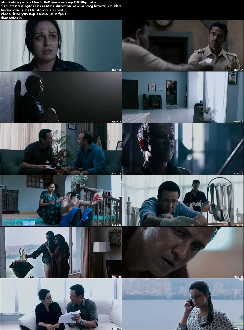 Screen Shots Rahasya 2015 Full Movie Download Hindi 720p Free