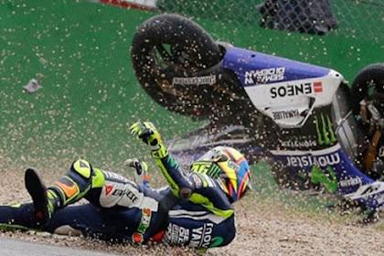 Valentino Rossi Terjatuh di Sirkuit Assen Harus Rela Tidak Mendapatkan Poin