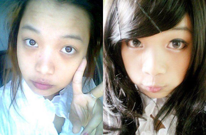 Asian Girls Without Makeup  Just Have Fun, Enjoy Life-1602