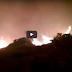 Συγκλονιστικά πλάνα απο την πυρκαγιά της Χίου. (Βίντεο)