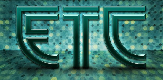 13. ETC TEXT EFFECT