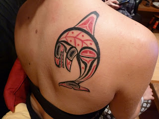 Dolphin-Tattoo-On-Back