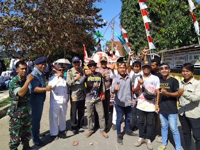 Karnaval Seni Budaya dalam rangka menyambut HUT RI Ke 73