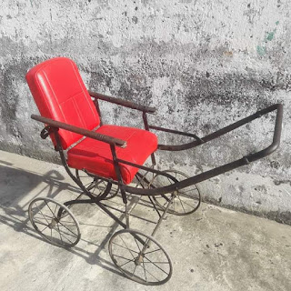 FOR SALE baby stroller antique victorian.   tlp/wa 082330534440