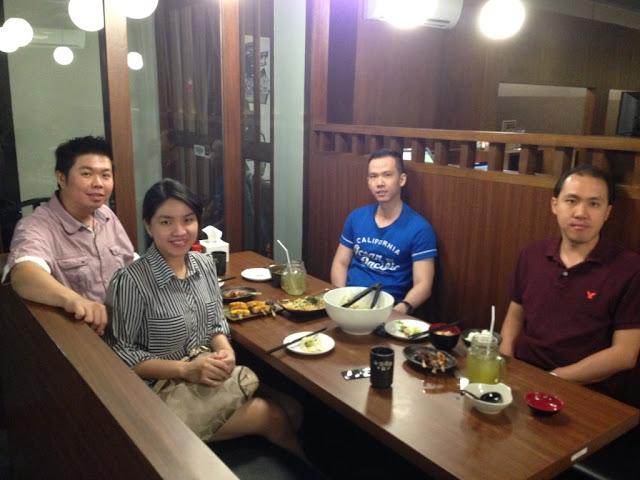 Kawan Kuliner dengan teman dan keluarga