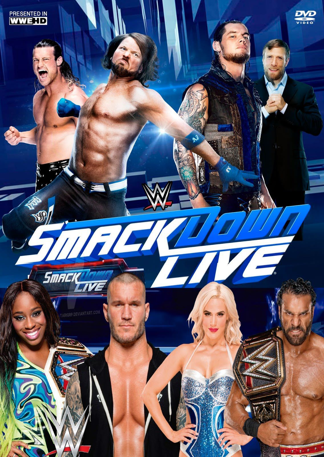 WWE Friday Night Smackdown (27 March 2020) English 720p HDRip 950MB