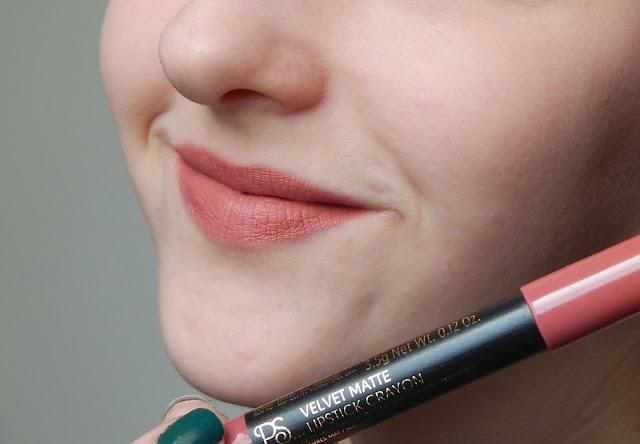 Ps love velvet matte lipstick nude beach mit face
