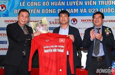 Ông Nguyễn Hữu Thắng chính thức làm HLV trưởng đội tuyển Việt Nam