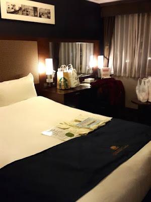 Double Bedroom at Hotel Monterey Grasmere Osaka Japan