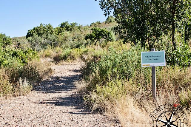 camino de acceso a Peña Escrita