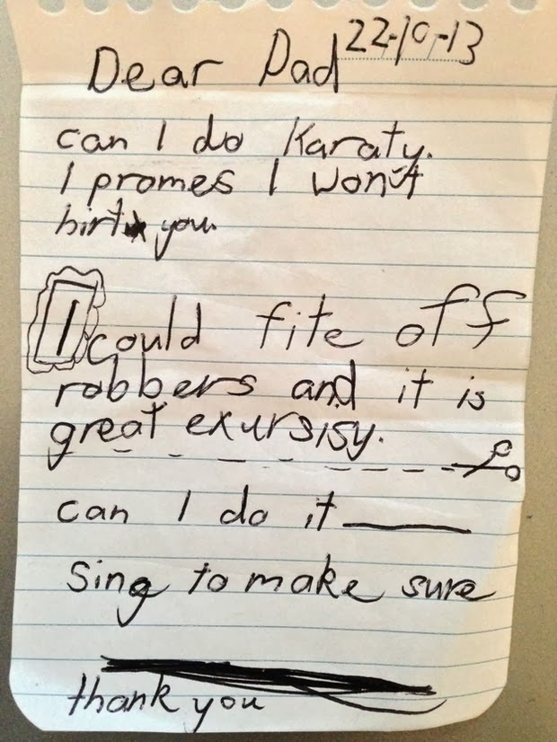 kids notes to parents 1