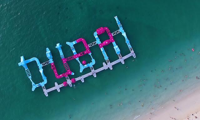 Công viên nổi dưới biển nào hoành tráng nhất thế giới ?